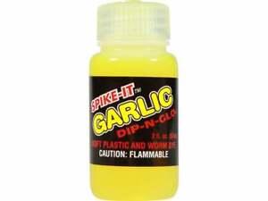 Spike-It Dip-N-Glo GARLIC Scent Dye 2 oz Bottle - Choose Color