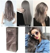 BERINA A38 LIGHT ASH BLONDE  COLOR CREAM HAIR DRY PERMANENT FASHION STYLE FUNK