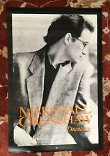 Marshall Crenshaw Downtown rare original promotional poster