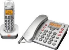 AUDIOLINE BigTel 480 combo schurloses Großtasten Telefon  mit Anrufbeantworte