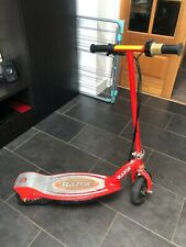 Razor E100 Children's Electric Scooter - in RED with charger.