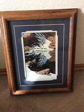 """Bev Doolittle """"Season Of The Eagle"""" Wooden Framed Decorator Print"""