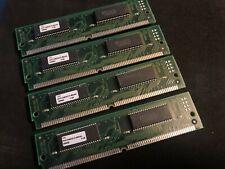 4x 8MB 72-Pin 60ns FPM Non-Parity 2Mx32 SIMM Memory 32MB Apple Macintosh PC Unix