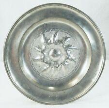 "Early Antique German Pewter Plate ""CHRISTIAN RAITHEL"" SCHWARZENBACH"
