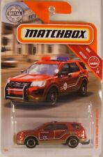 MATCHBOX #42 '16 Ford Interceptor Utility Fire Chief's Car, 2019 issue (NEW)