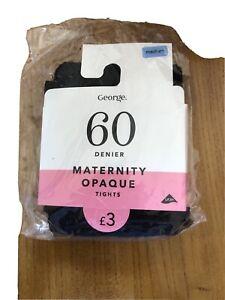 New Maternity Tights 60 Black Medium