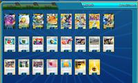Pokemon Card TCG Pikachu & Zekrom GX Online Digital Deck PTCGO