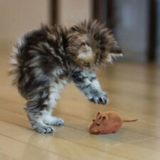BONITO Faux little mouse sonido ruido Rata Playing Juguete Para Mascotas Gatos