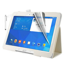 Smart Case Cover Stand Screen Protector Stylus for Samsung Galaxy Tablets Tab 4 7 Inch Sm-t230 White