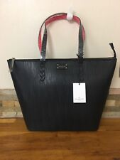 PAULS BOUTIQUE Conner Classic Black Oversized Tote Bag