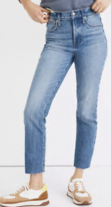 Madewell The Perfect Vintage Jean in Enmore Wash: Raw-Hem Edition 26 MB406