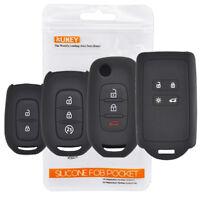 For Renault Megane Espace Trafic Captur Clio Silicone Key Case Cover Remote Fob