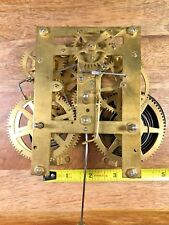 Old Clock Movement For Parts/Repair (Has Power To Hammer/Escape Wheel) (K556)