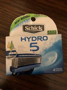Schick Hydro 5 Refill Razor Blade Cartridge - 4 Pack