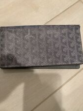 Vaultskin London Chelsea RFID Blocking Wallet In Chromium Grey Leather New
