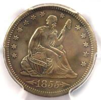 1855-S Arrows Seated Liberty Quarter 25C - PCGS XF Details - Rare Type Coin!