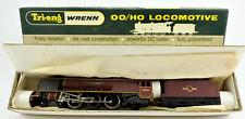 """TRI-ANG WRENN OO GAUGE W2226 DIE CAST BR """"CITY OF LONDON"""" 4-6-2 ENGINE & TENDER"""