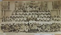 Vintage Photo School Children 1950 Black White Real Nathan Hale JHS Brooklyn NY