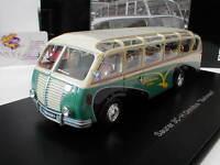 """Schuco Pro.R 09006 - Saurer 3C-H Omnibus """"Bachmann"""" Baujahr 1951 weiß-grün 1:43"""