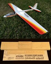 """65""""wing span Divine Wing R/c Glider Plane short kit/semi kit and plans"""