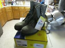 Belleville Men's Hot Weather Combat Boots 600 Sage Leather 11 Reg NIB