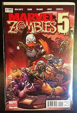 Marvel Zombies 5 #2 Variant Comic Marvel 2010 2B Salvador Epsin Howard The Duck