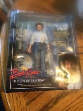 NECA Bob Ross The Joy of Painting 8? Inch Clothed Action Figure Reel Toys