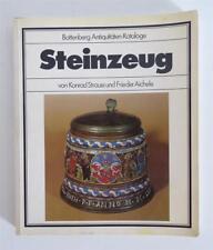 Steinzeug v. Konrad Strauss und Frieder Aichele Antiquitäten Kataloge Battenberg