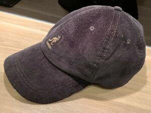KANGOL Baseball Cap, Basecap, Baumwolle, Kord, Kappe, Mütze, schwarz, fast neu