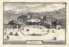 Antique engraving, Trianon