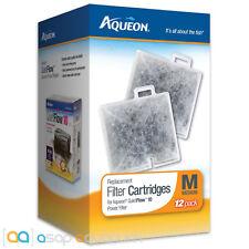 Aqueon QuietFlow Replacement Filter Cartridge Medium 12 pack Quietflow 10 Filter