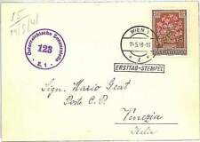 Flowers Postal History Austrian Stamps