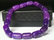 (cB5606)  Gemstone:  Unisex Natural Sugilite  Bracelet AAA
