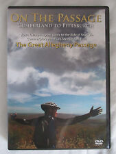 THE GREAT ALLEGHENY PASSAGE: CUMBERLAND TO PITTSBURGH - TRAVEL DVD