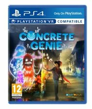 Concrete Genie PS4 PlayStation 4 Game Vr Compatible - BRAND NEW AND SEALED