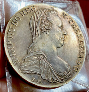 Austria Silver Thaler 1780 Grade AUNC