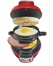Breakfast Sandwich Maker Hamilton Beach Electric Egg Muffin Bagel Toaster Cheese