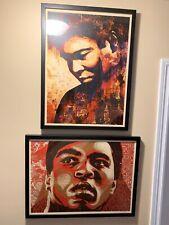 Muhammad Ali 2006 AP and Ali 2010 AP - Shepard Fairey