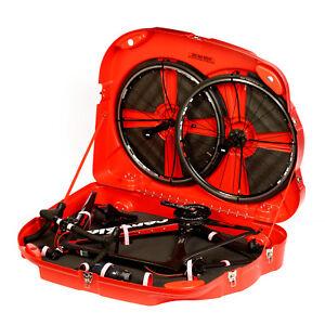 Bonza Bike Box 2 - Bike Travel Case (Red)