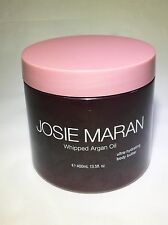 Josie Maran WHIPPED ARGAN OIL BODY BUTTER 13.5 oz LILAC Unsealed FREE S/H No Box