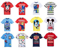 Boys Kids Official Various Character Short Sleeve T Tee Shirt Top 2 - 8 Years