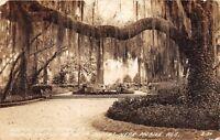 D45/ Mobile Alabama AL Real Photo RPPC Postcard 1939 Bellingrath Gardens 2