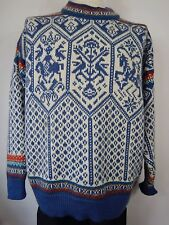 Dale Of Norway Mens Nordic Icelandic Thick Ski Winter Jumper Sweater Size Large