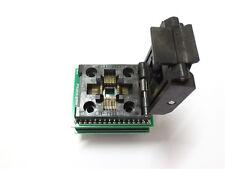 LQFP32 TQFP32 to DIP28 Socket Programmer Adapter AVR Arduino bootloader UNO NANO