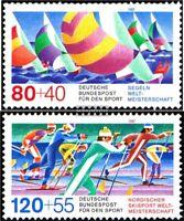 BRD (BR.Deutschland) 1310-1311 (kompl.Ausgabe) gestempelt 1987 Sporthilfe