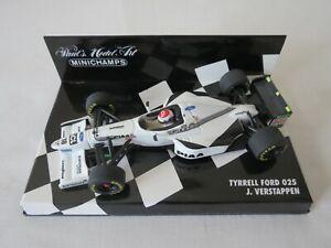 J. VERSTAPPEN 1997 Tyrrell Ford 025 F1 Paul's Model Art Minichamps 1:43