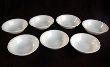 Corelle Set of 7 ~ WOODLAND Brown BERRY Bowls ~ Nice!