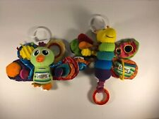 **USED** *Lot Of 2* TOMY LAMAZE Jacque The Peacock & Freddie The Firefly