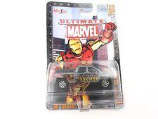 Maisto Cars Ultimate Marvel Die-Cast IRON MAN GMC Terradyne Series 1 #10