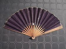 Superbe ��ventail Au pauvre diable Paris antique fan ventaglio facher